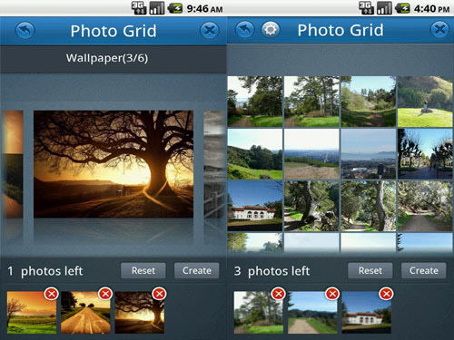 Photo Grid Android Apps for Designers