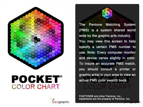 Pocket Color Chart Android Apps for Designers