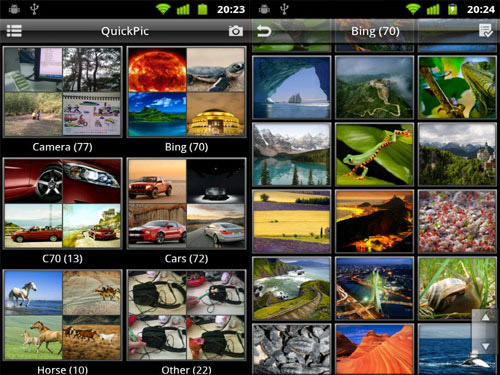 QuickPic Android Apps for Designers