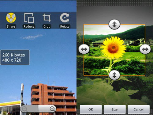 Reduce Photo Size Android Apps for Designers