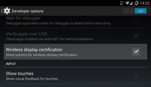 Enable Wireless Display Certifications