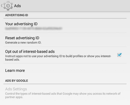 Control The Ads That You See Or Simply Opt-Out