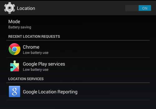 Have Your Device Location Enabled
