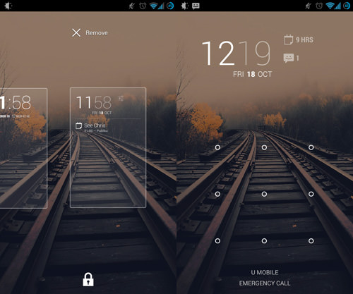 Making DashClock Your Main Lock Screen Widget
