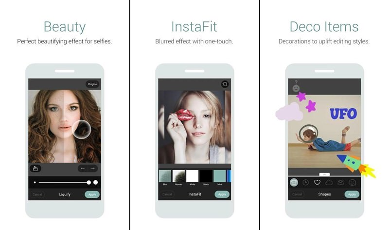 Cymera  Selfie and Photo Editor