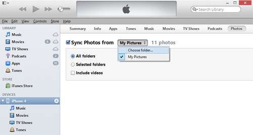 iTunes Pictures
