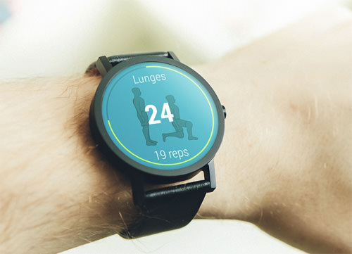 VimoFit Android Wear Fitness