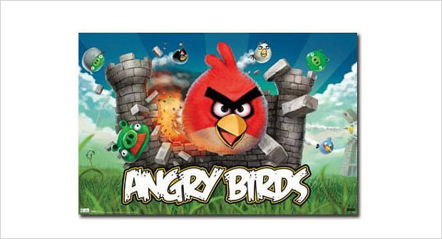 angry birds the poster