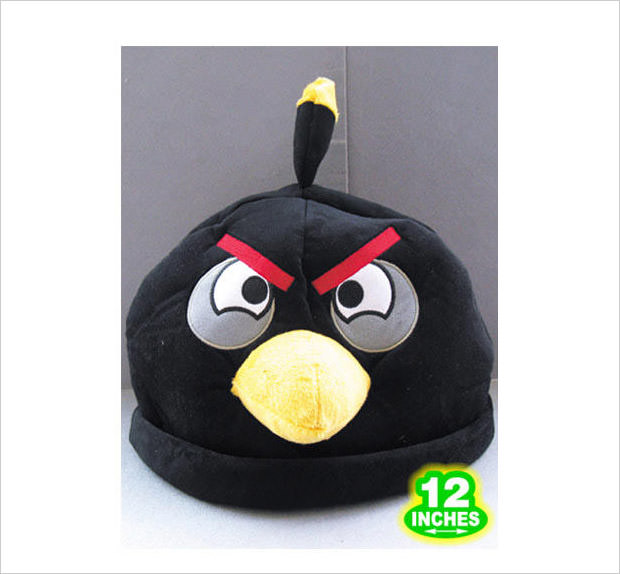 black bird cosplay hat