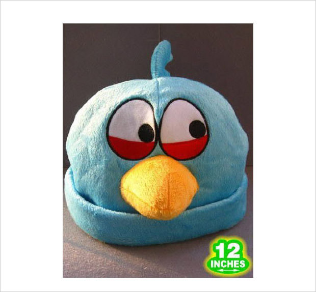blue bird cosplay hat