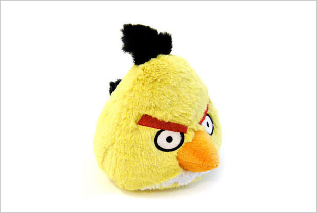 plush yellow bird