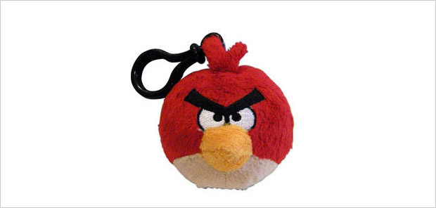 red bird backpack clip