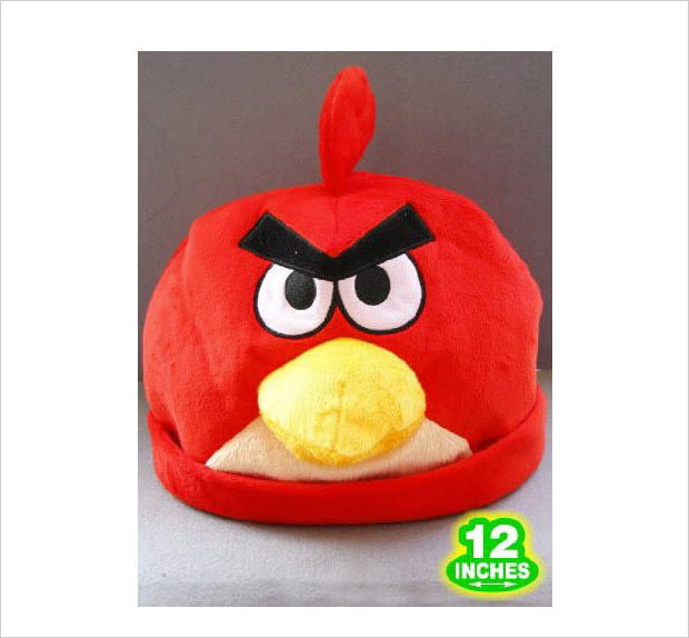 red bird cosplay hat