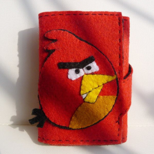 red bird wallet