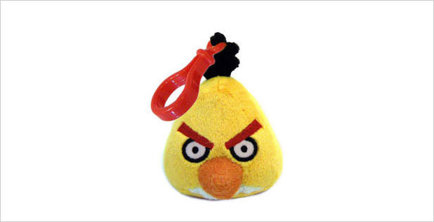 yellow bird backpack clip