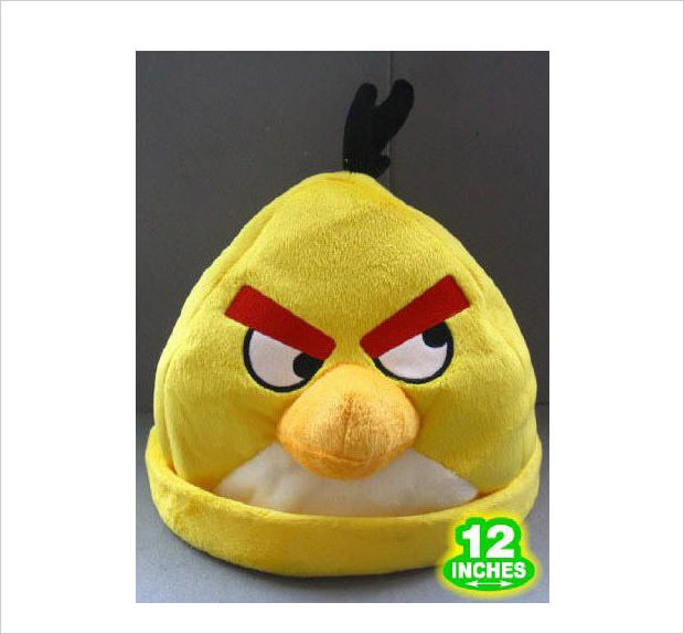 yellow bird cosplay hat