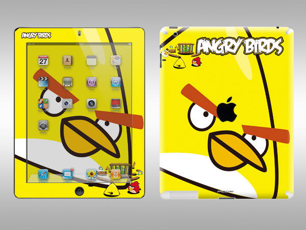 yellow bird ipad skin