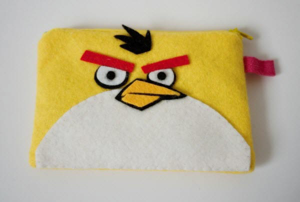 yellow bird ipod case