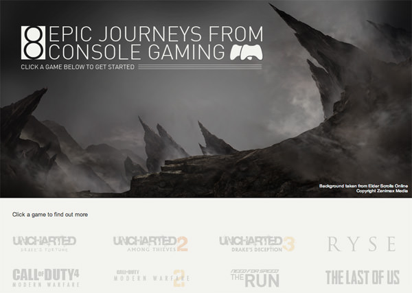 8 Epic Journeys From Console Gaming
