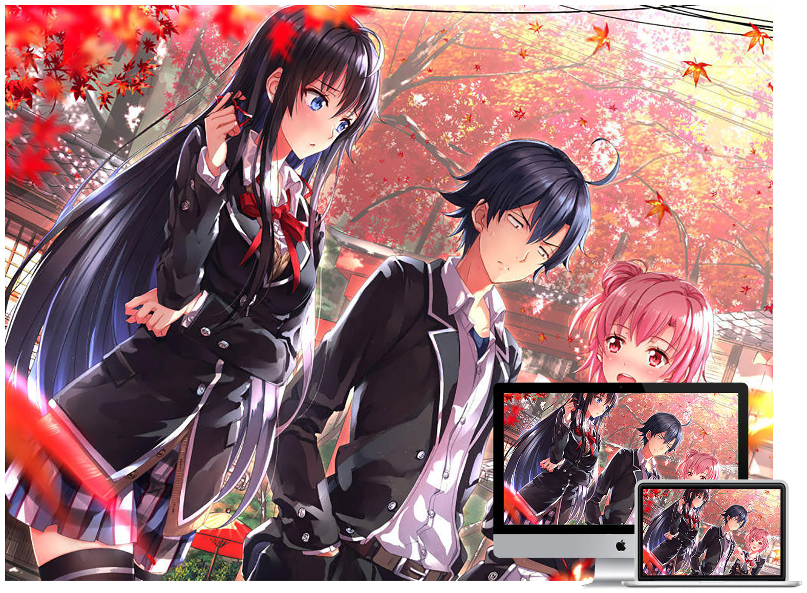 40 Beautiful Anime And Manga Wallpapers Hongkiat