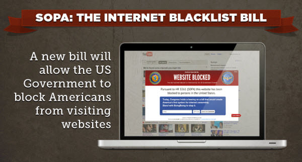 sopa: the internet blacklist bill