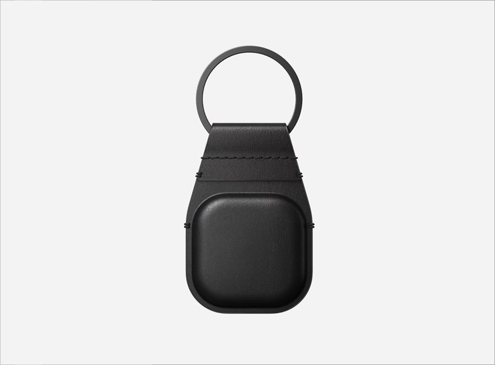 Nomad Leather Keychain