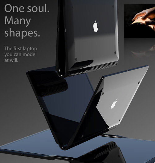 foldable macbook touch