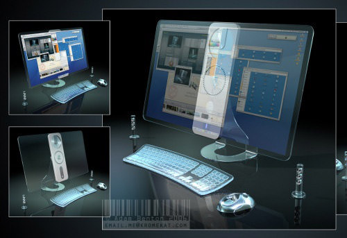 Transparent iMac