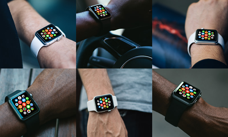 free photorealistic apple watch