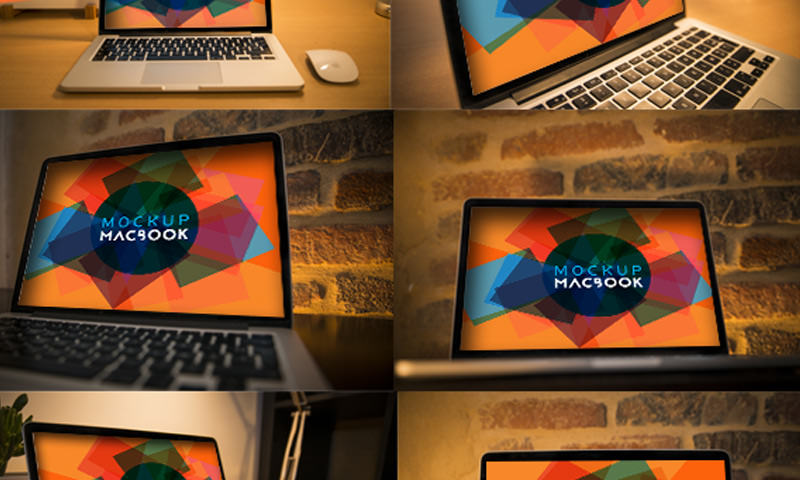macbook series mockups