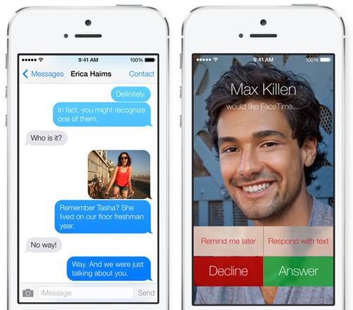 facetime message