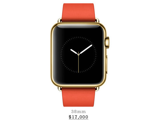 18-Karat Rose Yellow Gold Case With Bright Red Modern Buckle