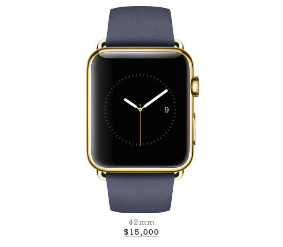18-Karat Rose Yellow Gold Case With Midnight Blue Classic Buckle