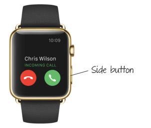 apple watch side button