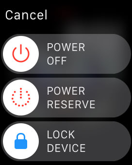 lock apple watch manually