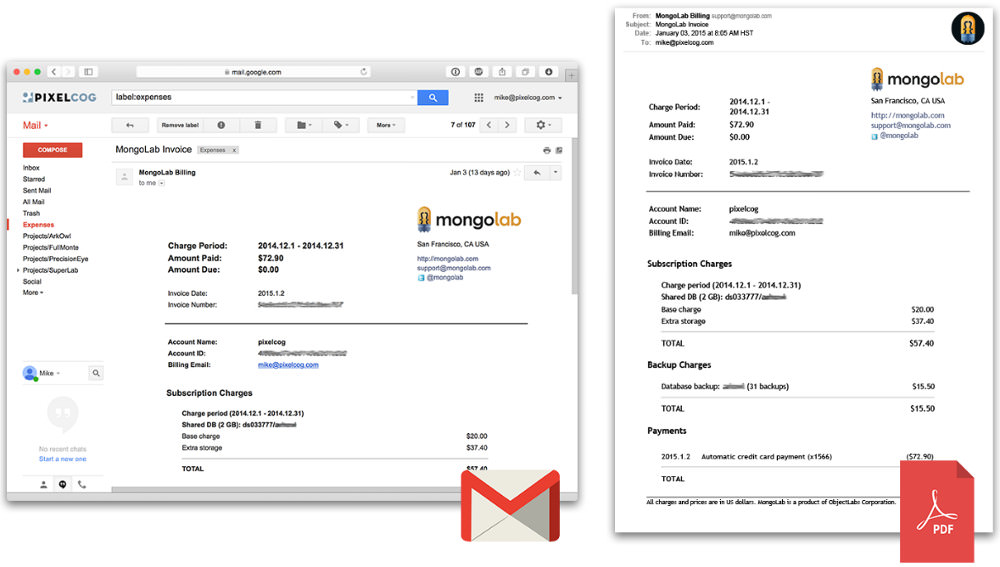 Convert Emails to PDF