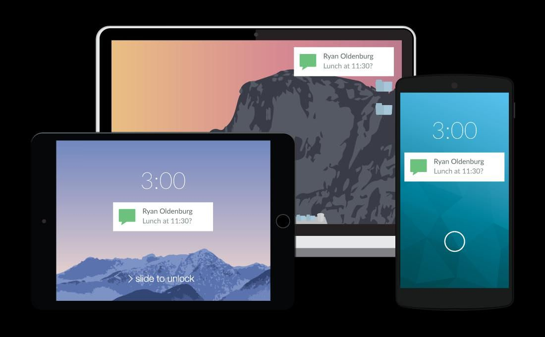 Pushbullet for connecting Android with PC or Mac