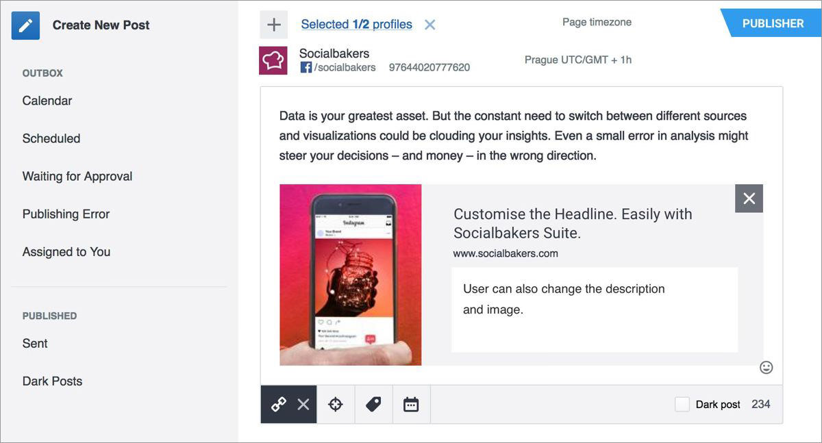 Socialbakers for Facebook