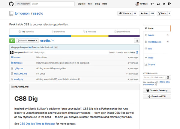 CSS Dig