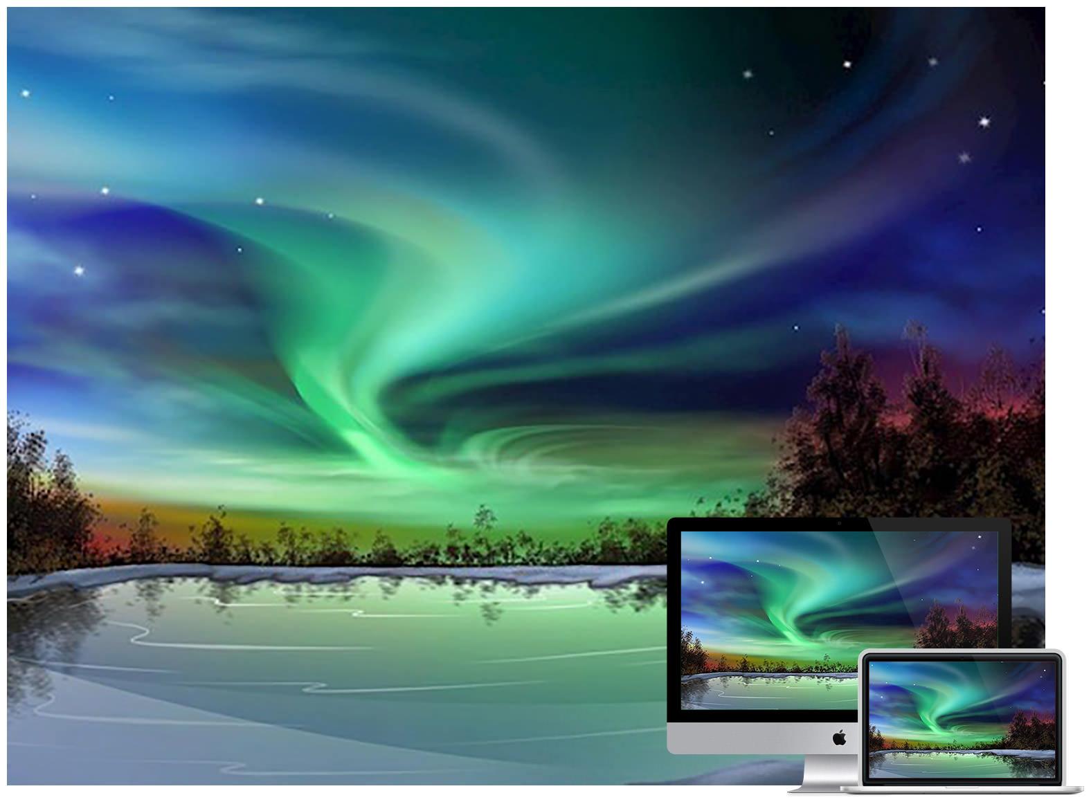 aurora-lake