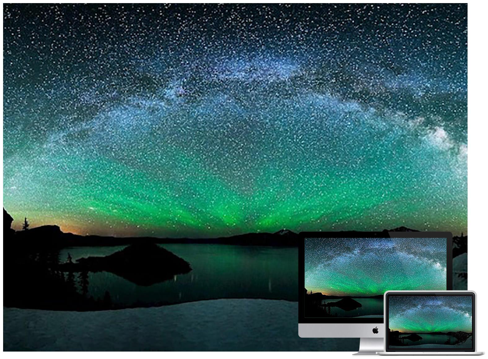 green-aurora-borealis