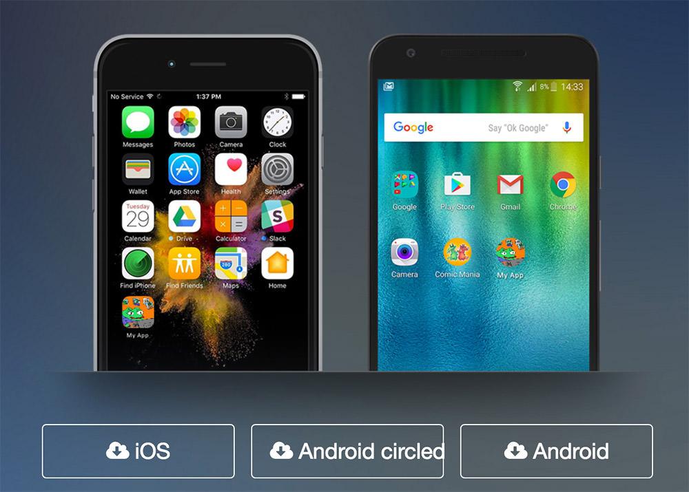 App Iconizer upload