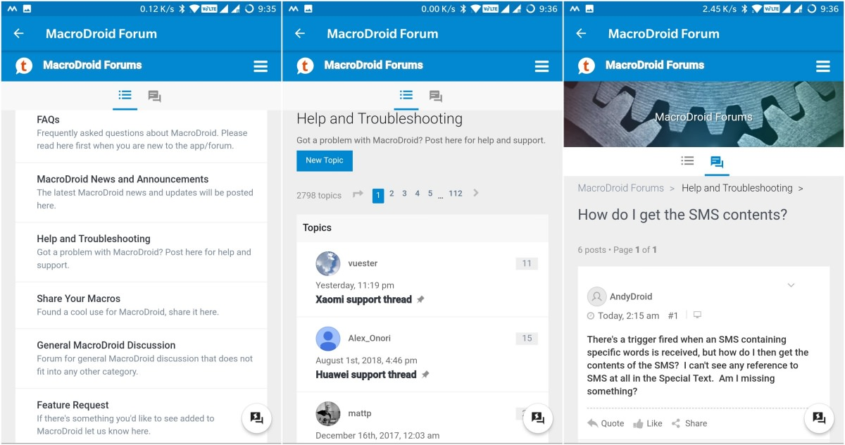 MacroDroid Forum