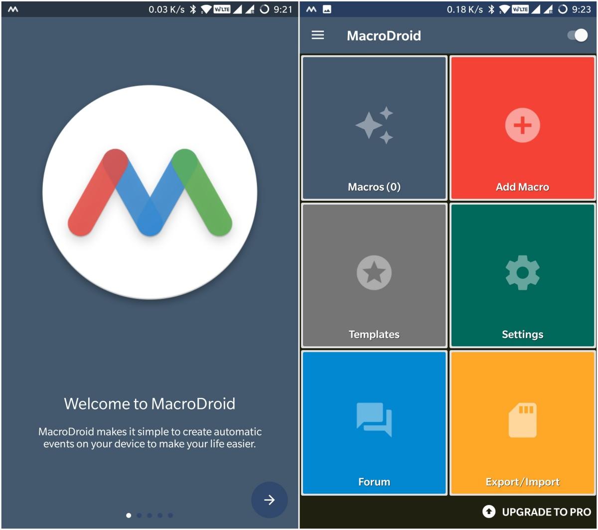 MacroDroid is a simple automation app