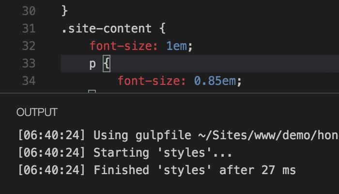Build report in Visual Studio Code