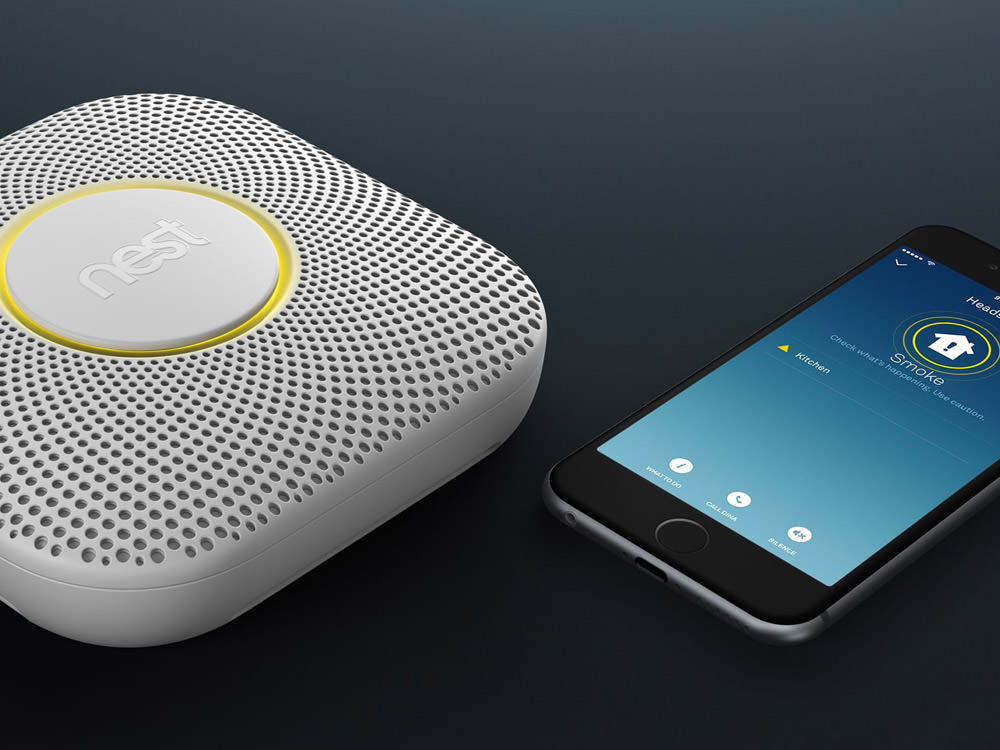 Nest Protect Smoke Plus Carbon Monoxide Alarm