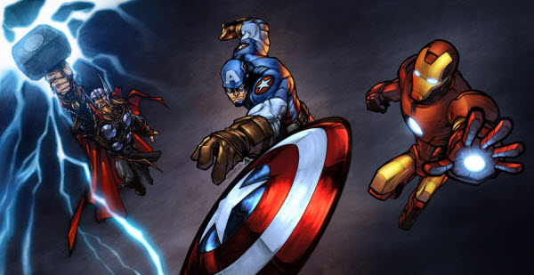 avengers attack