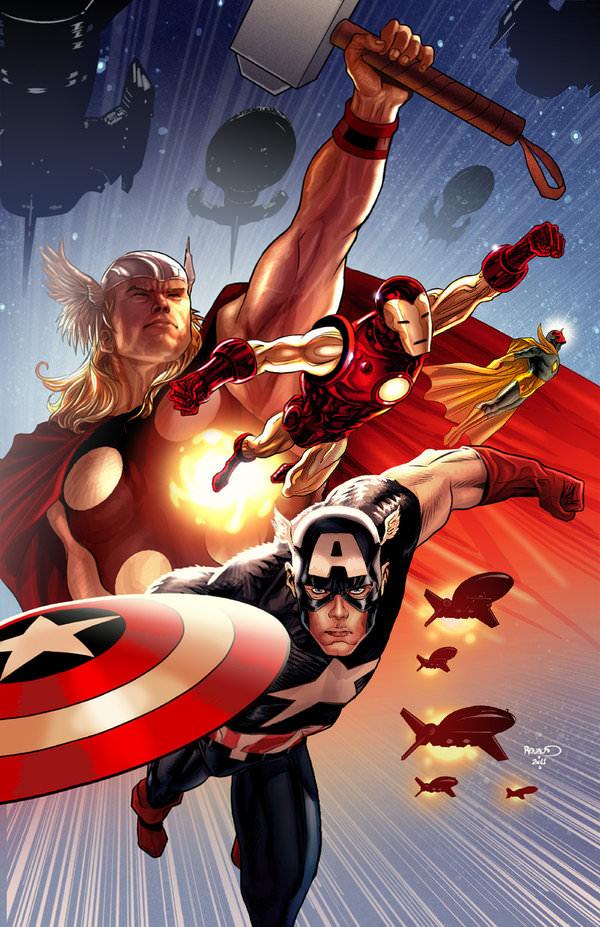 avengers variant cover