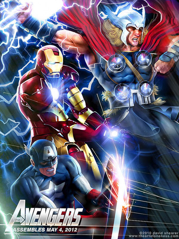the avengers assembles