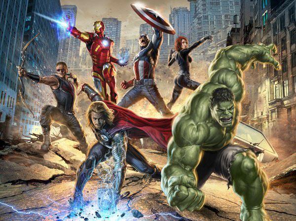 the avengers promo art #2